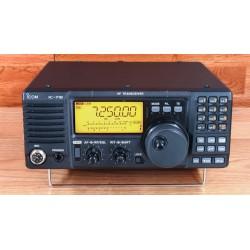 Transceptor HF ICOM IC-718 160 a 10 m