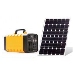 KIT Inversor Solar 600 w, panel y batería.