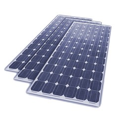 Panel solar de 12V 100w