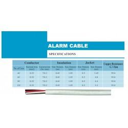 Cable para alarma 4 conductores (100m)