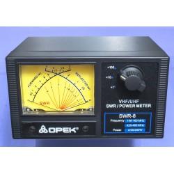 Medidor VHF/UHF SWR-8L 2/20/200w