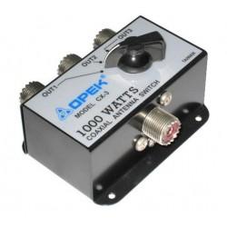 Llave de Antena HF CX-3 para HF