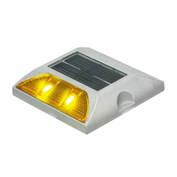 Baliza solar con LED para caminos
