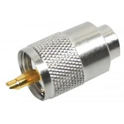 Conector PL para RG8x y RG59 AT-7405B