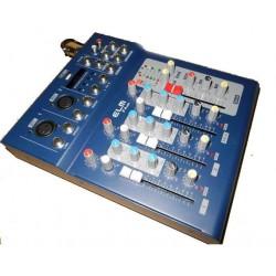 Consola Mezcladora de 4 canales