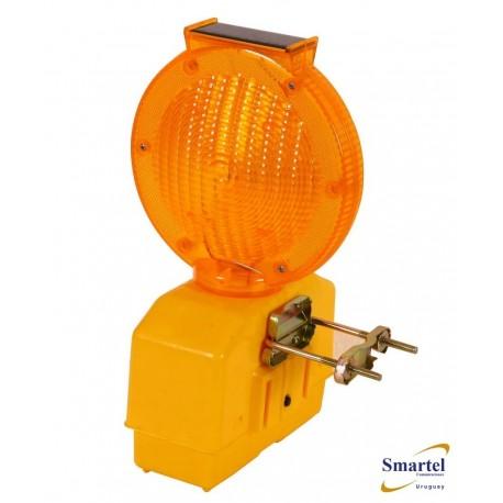 Baliza solar con LED y batería interna
