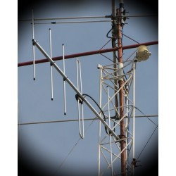 Antena Yagi VHF 5 elementos 144-148 Mhz.