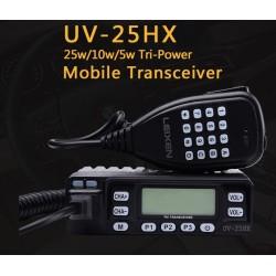 Dual Banda UV-25HX 25w VHF/UHF radio FM