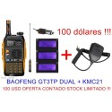 Promo Baofeng GT3TP + KMC21