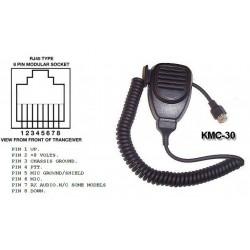 Micrófono KMC-30/RJ45 para Kenwood