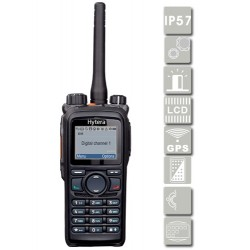 Portátil PD786G VHF con GPS