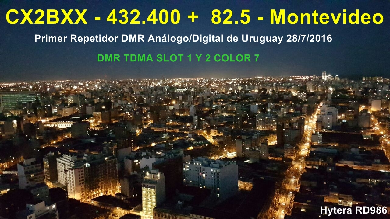 Repetidora DMR Montevideo